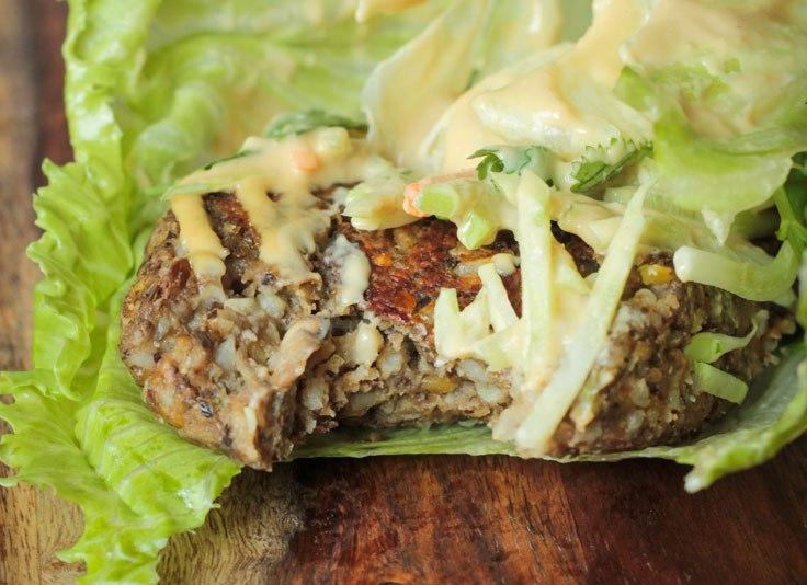 veggie inspired journey Asian-Lentil-Burgers-1